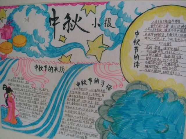 有关中秋节的手抄报 有关中秋节手抄报资料 与中秋节有关的手抄报
